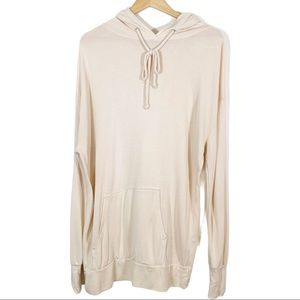WildFox Oversized Pullover Drawstring Hoodie Small